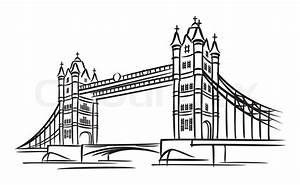 London Bridge Dessin : symbol f r london vektorgrafik colourbox ~ Dode.kayakingforconservation.com Idées de Décoration