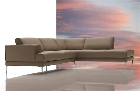 modern leather sectional vig dima mirage modern top italian leather sectional sofa