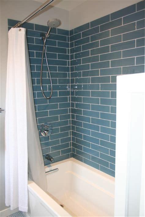 glass shower wall tile