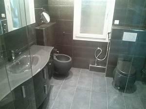 salle de bain design et moderne avec douche italienne a With salle de bain moderne douche italienne