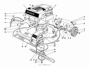 Toro 16073  Whirlwind Lawnmower  1973  Sn 3000001