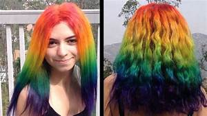 Rainbow Hair Be Like A Rainbow 28 Reasons To Live In