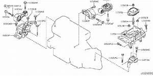 Nissan Juke Engine Mount Bolt  Mounting  Transmission  Cvt