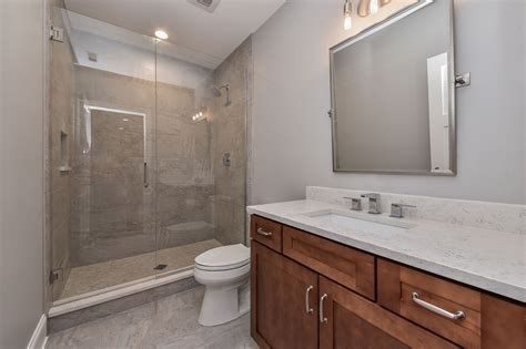 Naperville Hall Bathroom Remodel Pictures