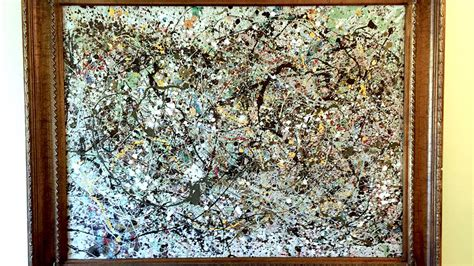 pollock free form price possible jackson pollock painting could be worth 160m