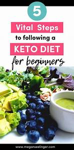 5 Necessary Steps To Following A Keto Diet For Beginners