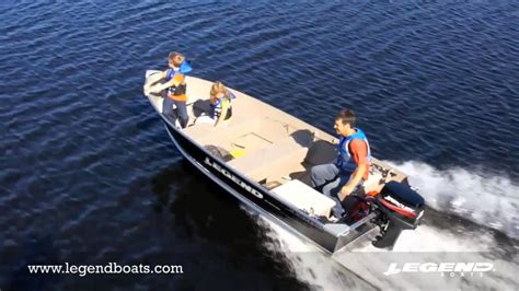 Legend Boats Youtube by Top Fishing Boats By Legend Boats 14 Widebody Youtube