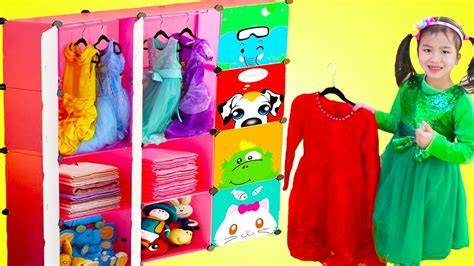 Jannie Pretend Play Princess Dress Up With New Clothes