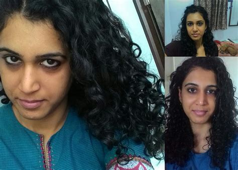 Indian Curly Hair Routine Shubhada Right Ringlets