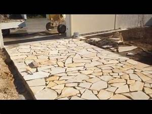 comment poser des pierres de baviere maconnerie martinez With prix dalle beton maison