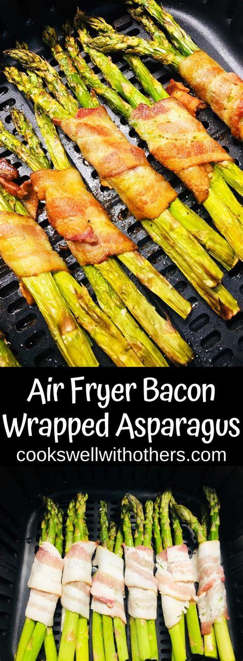 asparagus bacon fryer air wrapped recipes recipe easy