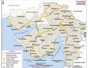 Buy Gujarat Road Map Online