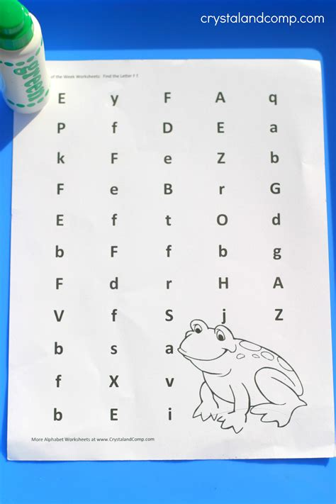 letter f worksheets for preschoolers preschool letter worksheets f is for frog 763