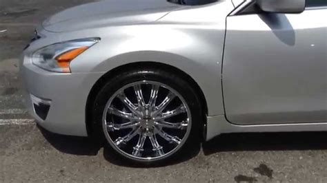 2014 Nissan Altima with B15 chrome finish   YouTube