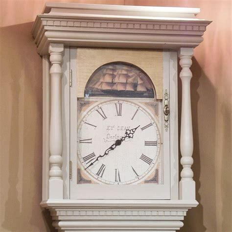 shabby chic grandfather clocks 19 best painted grandfather clocks images on pinterest antique clocks antique watches and