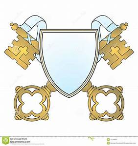 Coat Of Arms Key Royalty Free Stock Photography - Image ...