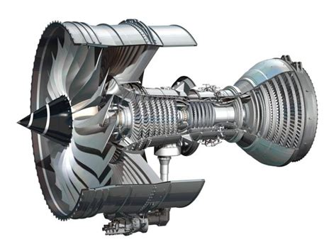 Commercial Aircraft Gas Turbine Engine