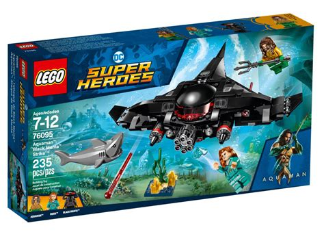 brickfinder lego dc superheroes black manta strike