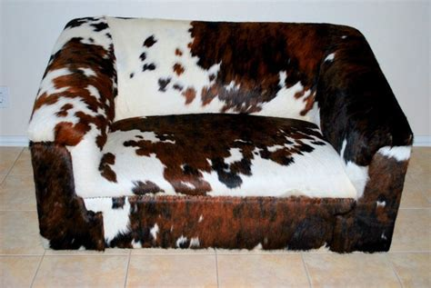 Cowhide Sectional Sofa by 3 Types Of Cowhide Furniture For Your Home Or Office