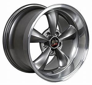 """18"""" Wheel for Ford Mustang Bullitt FR01 18x10 Anthracite Rim"""