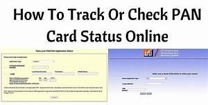 pan card status online via nsdl date of birth uti pan With nsdl online pan documents upload