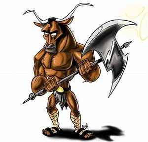 Cool Minotaur Clipart - The Cliparts