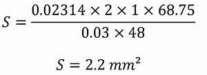 Section De Cable électrique : formule calcul section cable electrique triphas c ble ~ Dailycaller-alerts.com Idées de Décoration