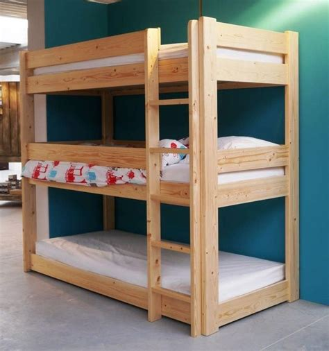 diy triple bunk bed plans triple bunk bed  plans wooden plan file bookcase unfinished