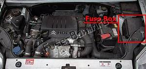 Fuse Box Diagram Peugeot Partner  2008