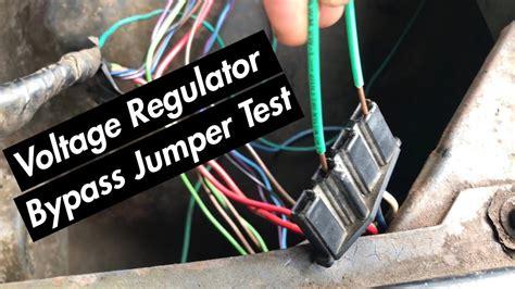 How Test External Voltage Regulator Pre