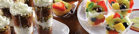 plastic canape dishes disposable appetizer dishes