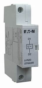 Xtpaxuvr Side Mounted Ac Coil Undervoltage Trip For Eaton