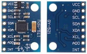 Interfacing Gy-521    Mpu-6050 Module Dengan Arduino