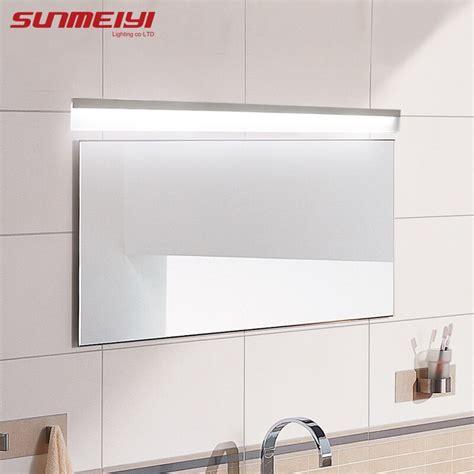 modern led mirror light waterproof wall l fixture ac85