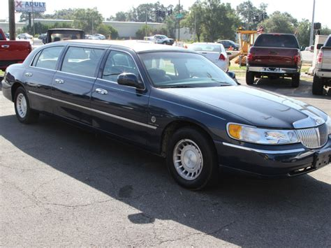 Town Car Limousine by 2000 Lincoln Town Car Limousine For Sale