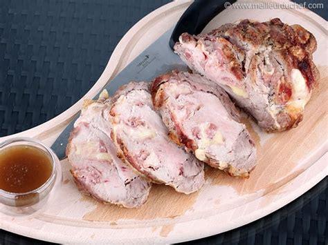 cuisine roti de porc rôti de porc orloff recette de cuisine avec photos