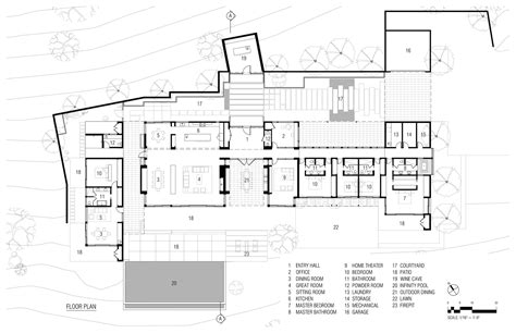 plan for house gallery of oakville view estate maniscalco 11