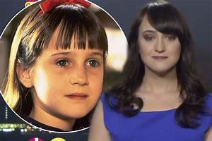 Where Am I Now : who 39 s that girl matilda actress mara wilson is all grown up and very different to her iconic ~ Eleganceandgraceweddings.com Haus und Dekorationen