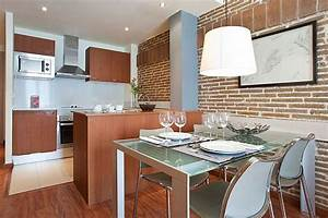 Warmth and Comfy Apartment Ideas In 55 Square Meter of