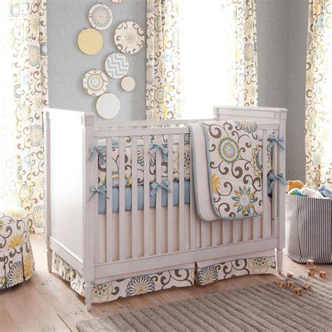 Spa Pom Pon Play 3piece Crib Bedding Set  Carousel Designs