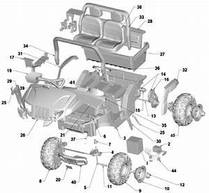 Power Wheels Arctic Cat Camo Parts
