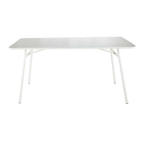 table jardin metal blanche jsscene com des id 233 es