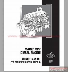 Mack Mp7 Diesel Engine Service Manuals