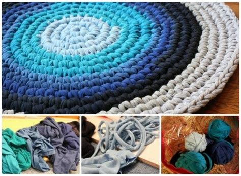 Diy Braided Rug From Old T Shirts Pictures Photos And