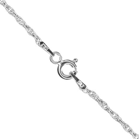 sterling silver  fine rope chain wholesale chains uk