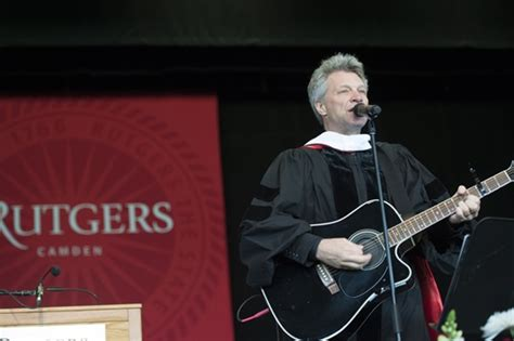 Rutgers Camden Awards Honorary Degrees Jon Bon Jovi