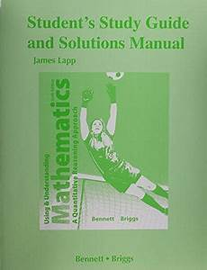 Student U0026 39 S Study Guide And Solutions Manual For Using And