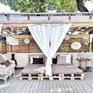 Chill Ecke Im Garten : eres fan de los palets mira todo lo que puedes hacer para tu terraza ideas decoradores ~ Whattoseeinmadrid.com Haus und Dekorationen