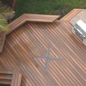 Lame Composite Pour Terrasse Leroy Merlin : bois composite pour terrasse elegant sans marque bordure ~ Zukunftsfamilie.com Idées de Décoration