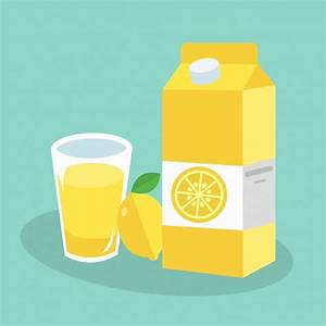 Lemon juice background Vector | Free Download
